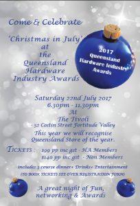 queensland hardware industry awards 22nd july christmas in july - Christmas In July Australia