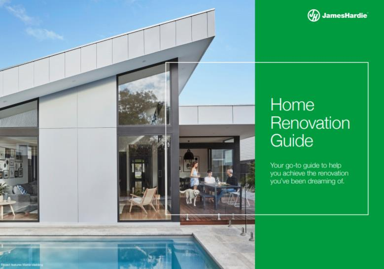 James Hardie – New Training Centre, Home Renovation Guide and more…