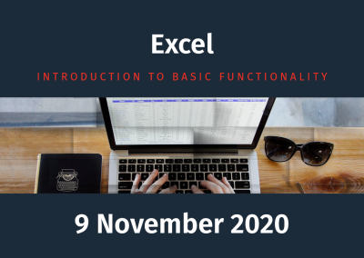 Excel – Introduction to Basic Functionality