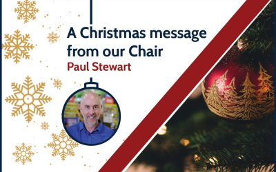 A Christmas message from our Chair
