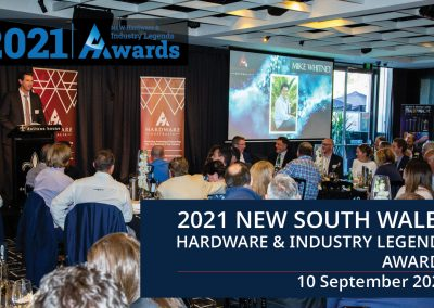 2021 New South Wales Hardware & Industry Legends Awards